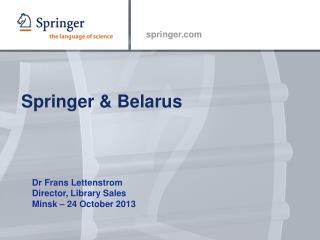 Springer & Belarus