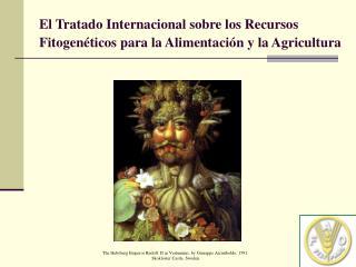 El Tratado Internacional sobre los Recursos Fitogenéticos para la Alimentación y la Agricultura