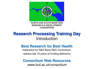 North & South Bank NHS R&D Consortium
