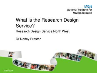 What is the Research Design Service?