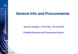 General Info and Procurements