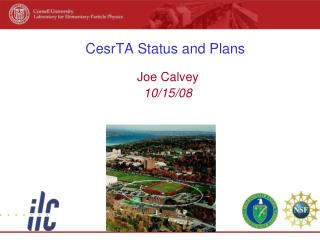 CesrTA Status and Plans