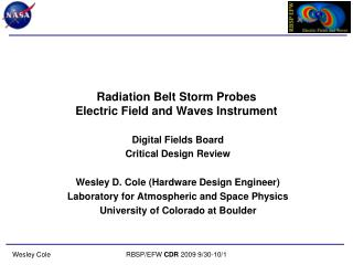 Radiation Belt Storm Probes Electric Field and Waves Instrument