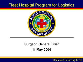 Surgeon General Brief 11 May 2004