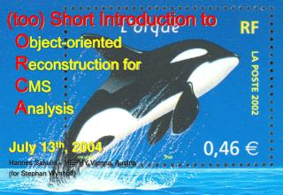 (too) Short Introduction to O bject-oriented  R econstruction for  C MS  A nalysis