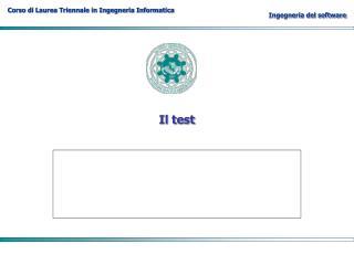 Il test