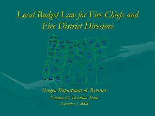 Local Budget Law for Fire Chiefs and Fire District Directors