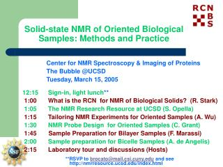 Solid-state NMR of Oriented Biological Samples: Methods and Practice