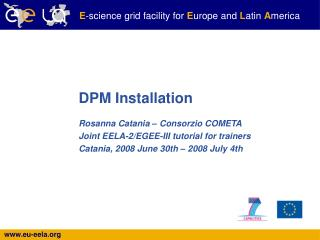 DPM Installation