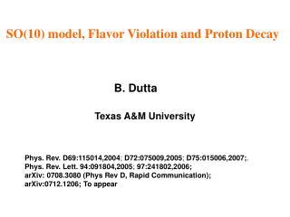 B. Dutta