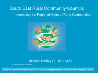 South East Rural Community Councils Increasing the Regional Voice of Rural Communities