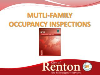 MUTLI-FAMILY  OCCUPANCY INSPECTIONS