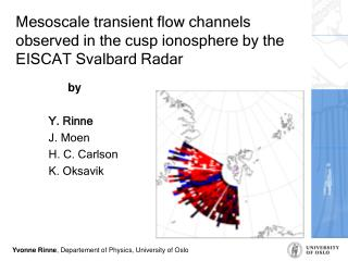 Mesoscale transient flow channels observed in the cusp ionosphere by the EISCAT Svalbard Radar