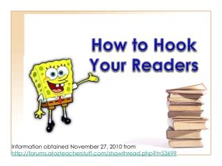 How to Hook Your Readers
