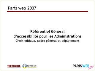 Paris web 2007