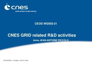 CEOS WGISS-21