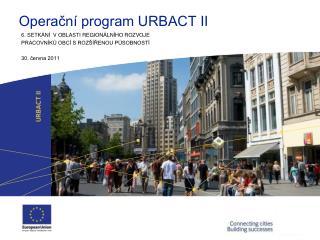 Operační program URBACT II