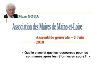 Marc GOUA