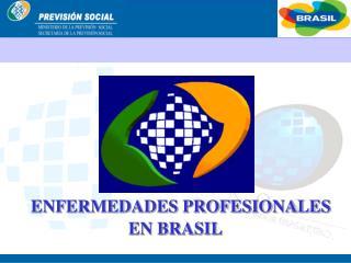 ENFERMEDADES PROFESIONALES  EN BRASIL
