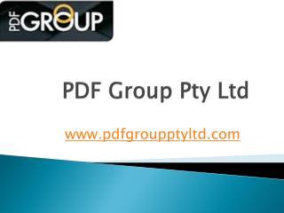 PDF Group Pty Ltd