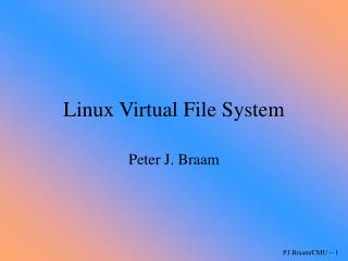 Linux Virtual File System