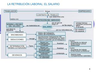 LA RETRIBUCIÓN LABORAL: EL SALARIO