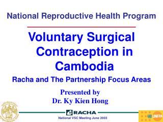 National Reproductive Health Program