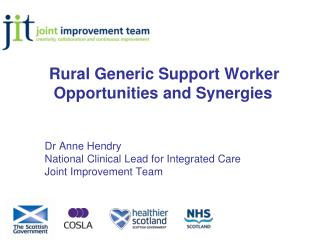 Rural Generic Support Worker Opportunities and Synergies