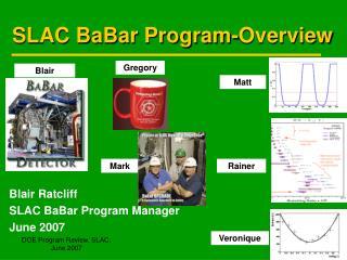 SLAC BaBar Program-Overview