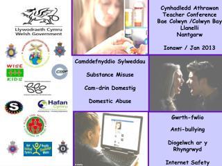 Camddefnyddio Sylweddau   Substance Misuse   Cam-drin Domestig   Domestic Abuse