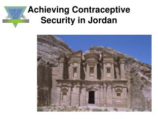 Achieving Contraceptive Security in Jordan