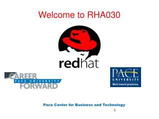 Welcome to RHA030