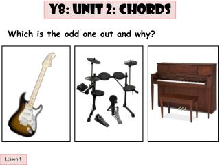 Lesson 1: ST: Odd one out
