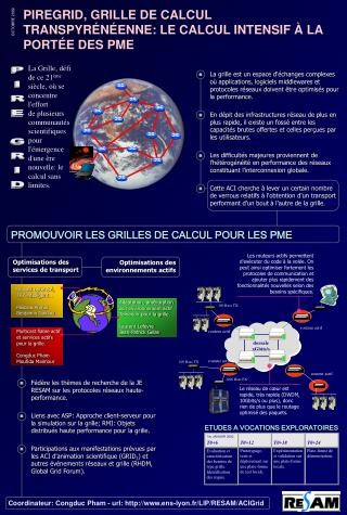 PROMOUVOIR LES GRILLES DE CALCUL POUR LES PME