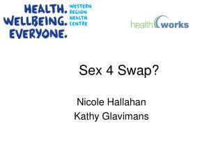 Sex 4 Swap?