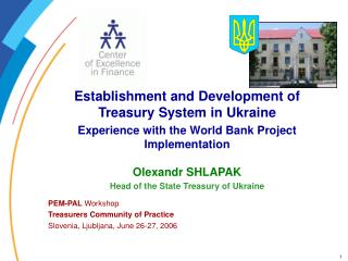 Establishment and Development of Treasury System in Ukraine