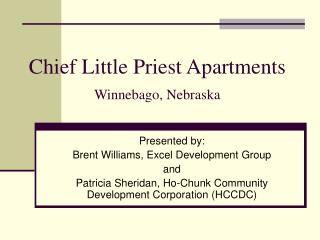 Chief Little Priest Apartments Winnebago, Nebraska