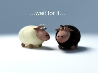 …wait for it…