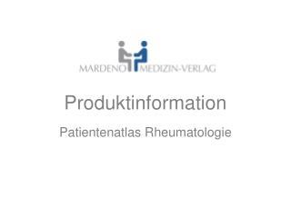 Produktinformation