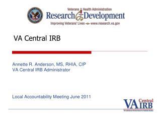 VA Central IRB
