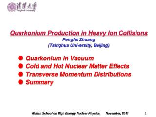 Quarkonium Production in Heavy Ion Collisions