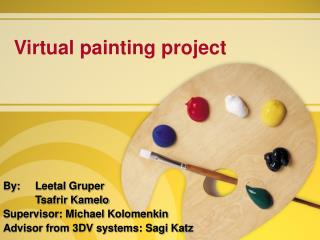 Virtual painting project