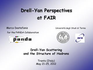 Drell-Yan  Perspectives at FAIR