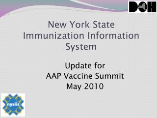 New York State  Immunization Information System