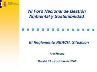 VII Foro Nacional de Gestión Ambiental y Sostenibilidad