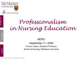 Professionalism in Nursing Education