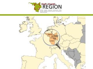 6  régions composantes  65.400 km² ,