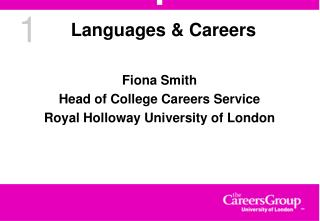 Languages & Careers