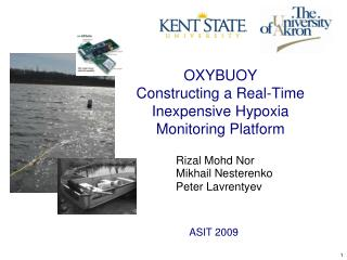 OXYBUOY Constructing a Real-Time  Inexpensive Hypoxia Monitoring Platform