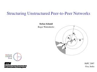 Structuring Unstructured Peer-to-Peer Networks